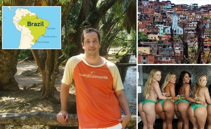 Большое жопу в бразилия, фото хер в киске она снизу он сверху показать