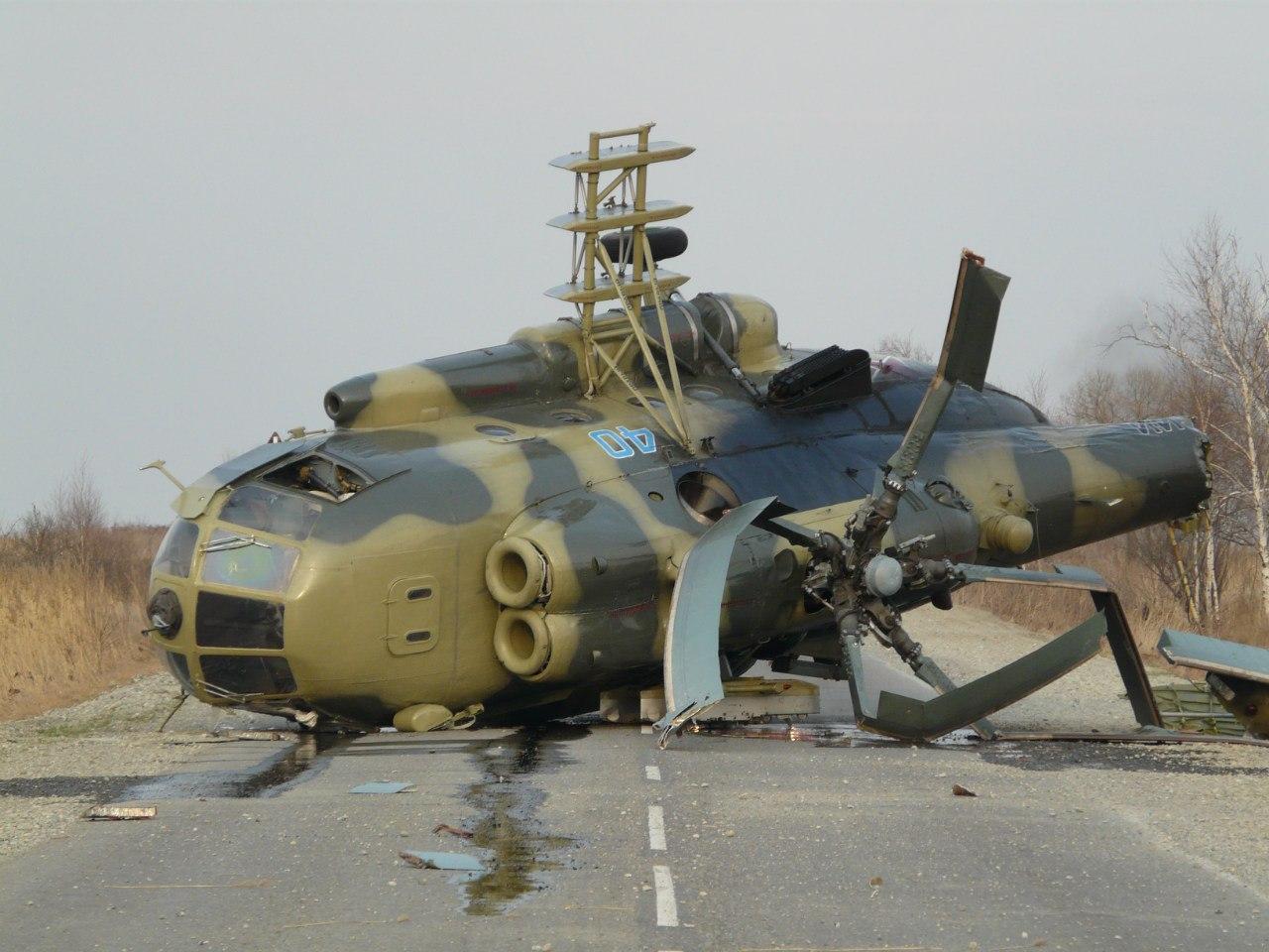 Подбитые вертолеты фото