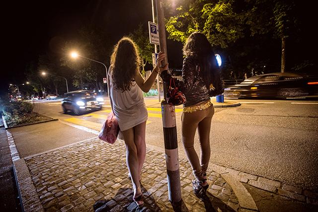 проститутк на панели фото