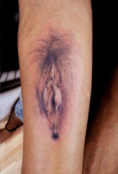 Nsfw highest quality trashy tattoo you will ever see
