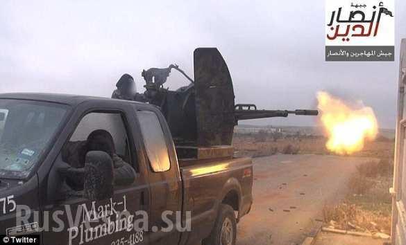 Смертники ИГИЛ. Нарезка видео с беспилотников