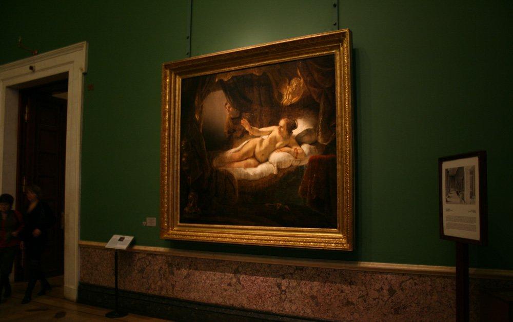 очень напугали, картина даная рембрандта фото удобен