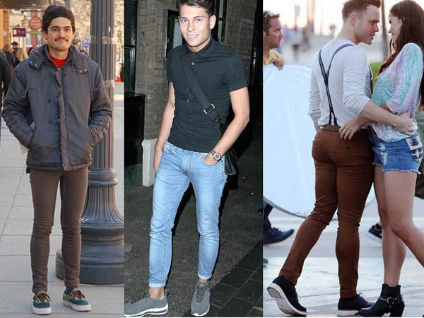 Узкие джинсы боль член