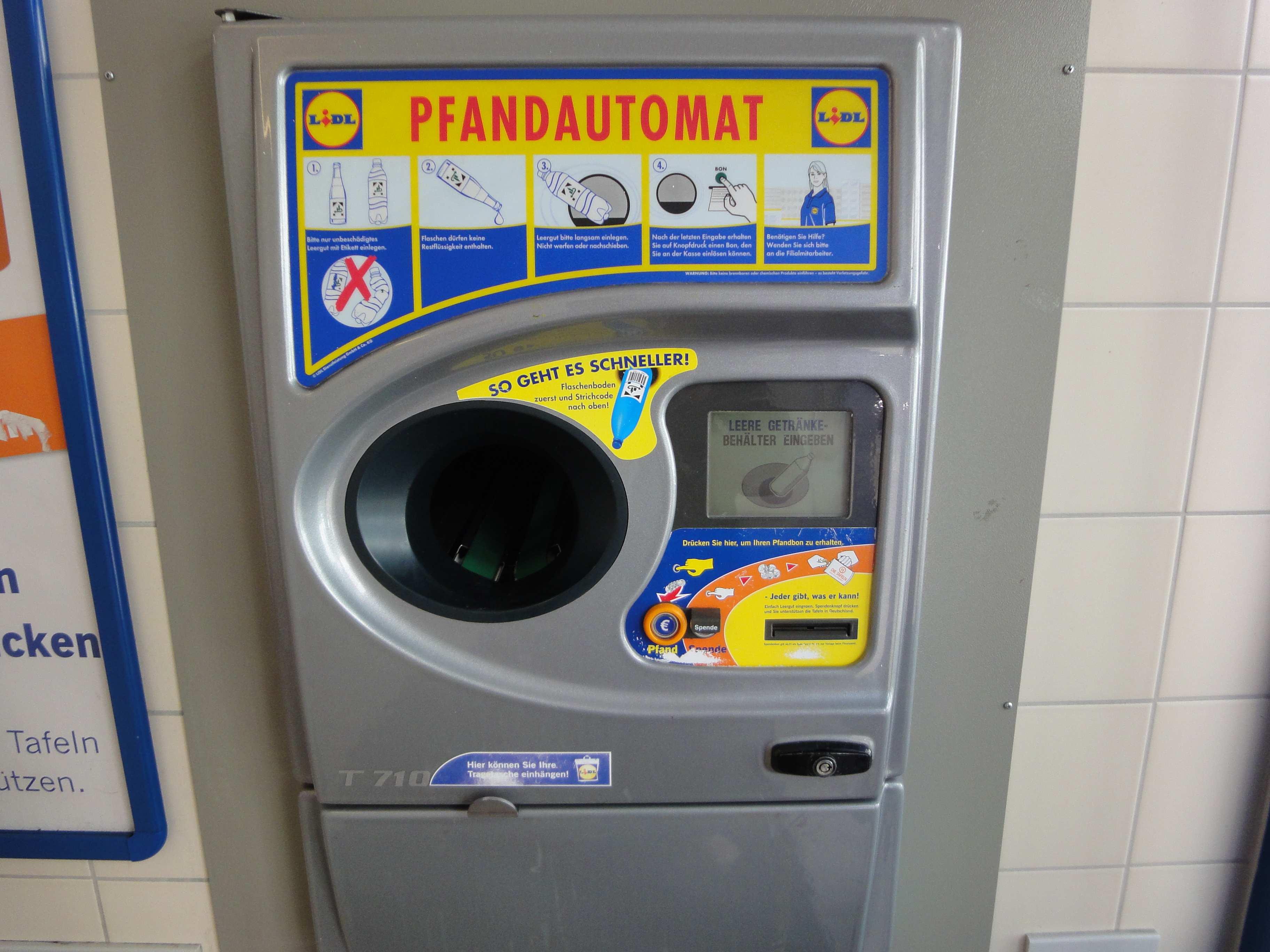 Lidl Pfandautomat