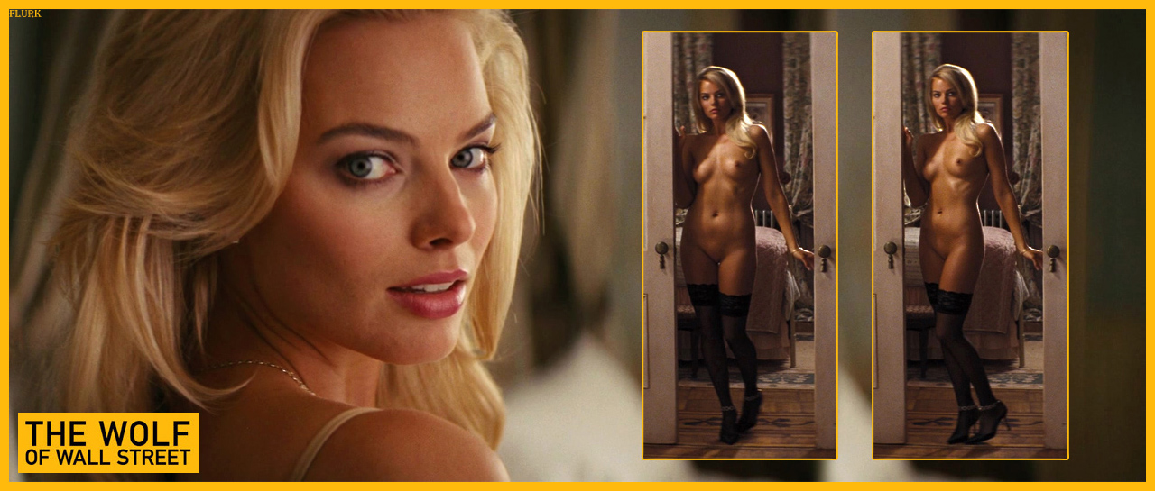 Naked margot robbie in the wolf of wall street ancensored