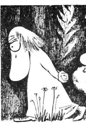 Картинка хемуля из муми троллей