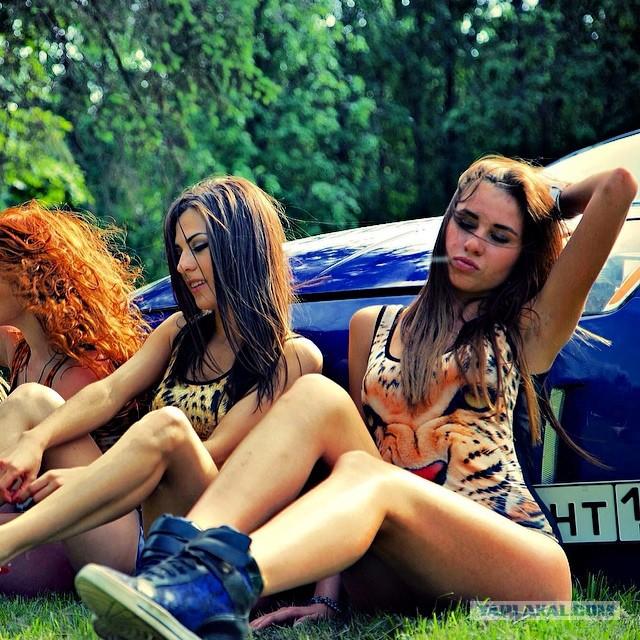 Фото московских девушек фото 622-431