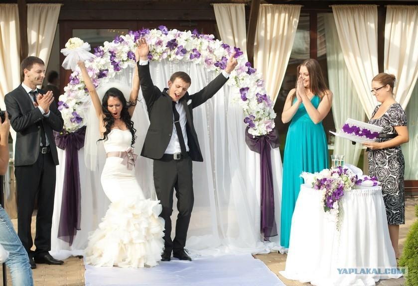 Большой хрен для невесты