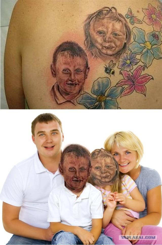 Смешные картинки на тему татуировок