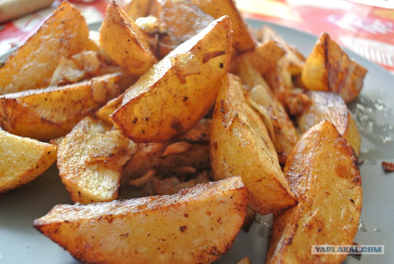 жареная картошка с груздями рецепт с фото