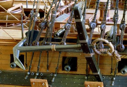 Дмитрий Шевелев. La Sirene. Французский 8 фунтовый фрегат 1744 г.