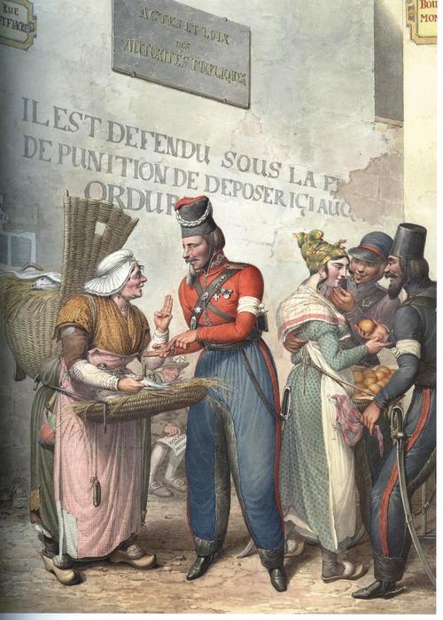 Нашествие в Париж кровавых ватников