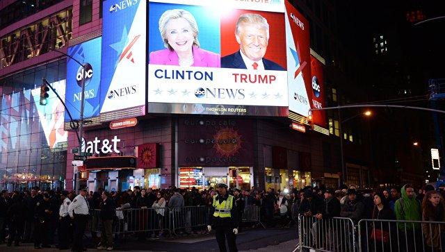 Клинтон позвонила Трампу и признала поражение на выборах