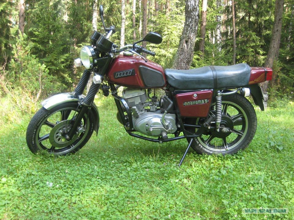 Мотоцикл с коляской ссср - Мотоциклы Мотоцикл Иж Планета 5 с Коляской