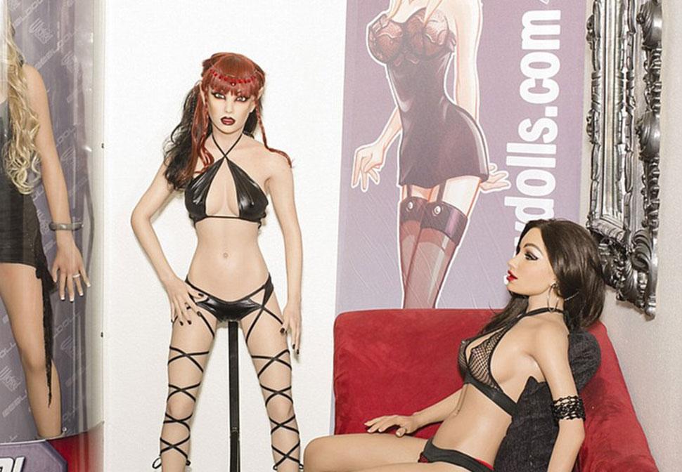 Порно с энтим куклой