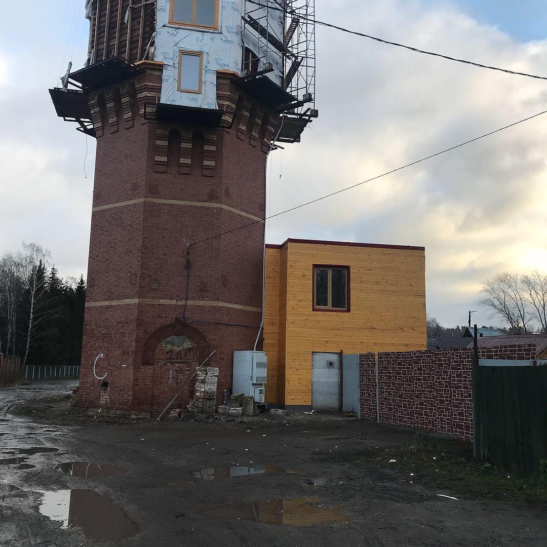 Водонапорная башня кемерово строительство