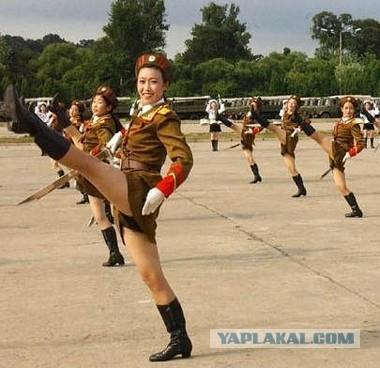 Армейские учения в Северной Корее