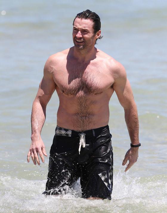 Фото мужика на пляже