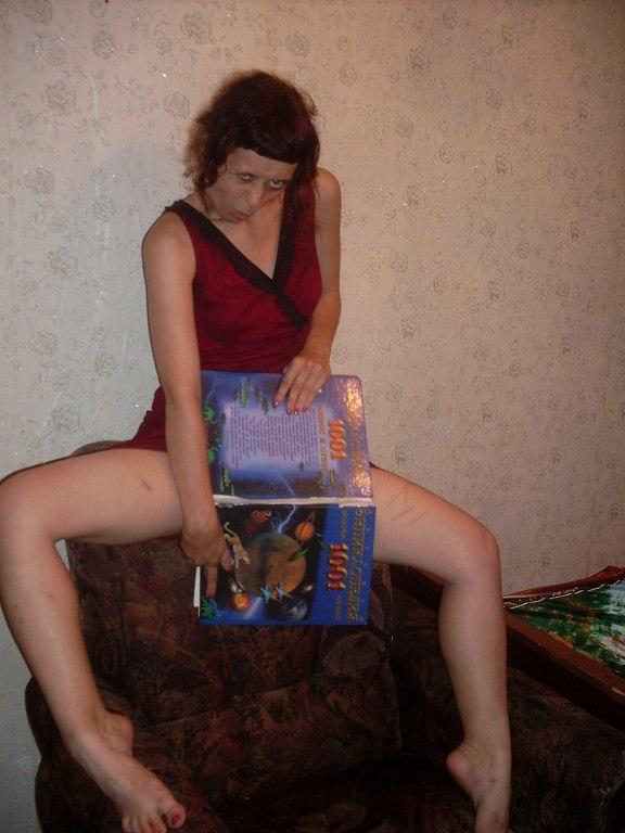 странная девушка фото