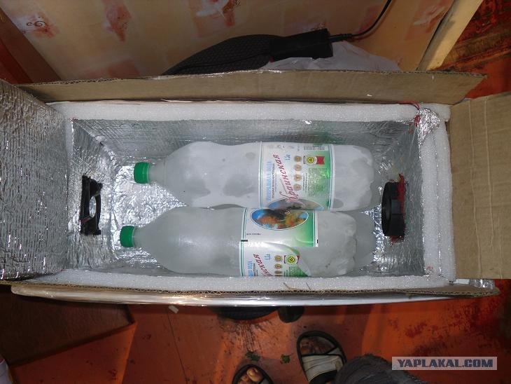 Как сделать в машину холодильник
