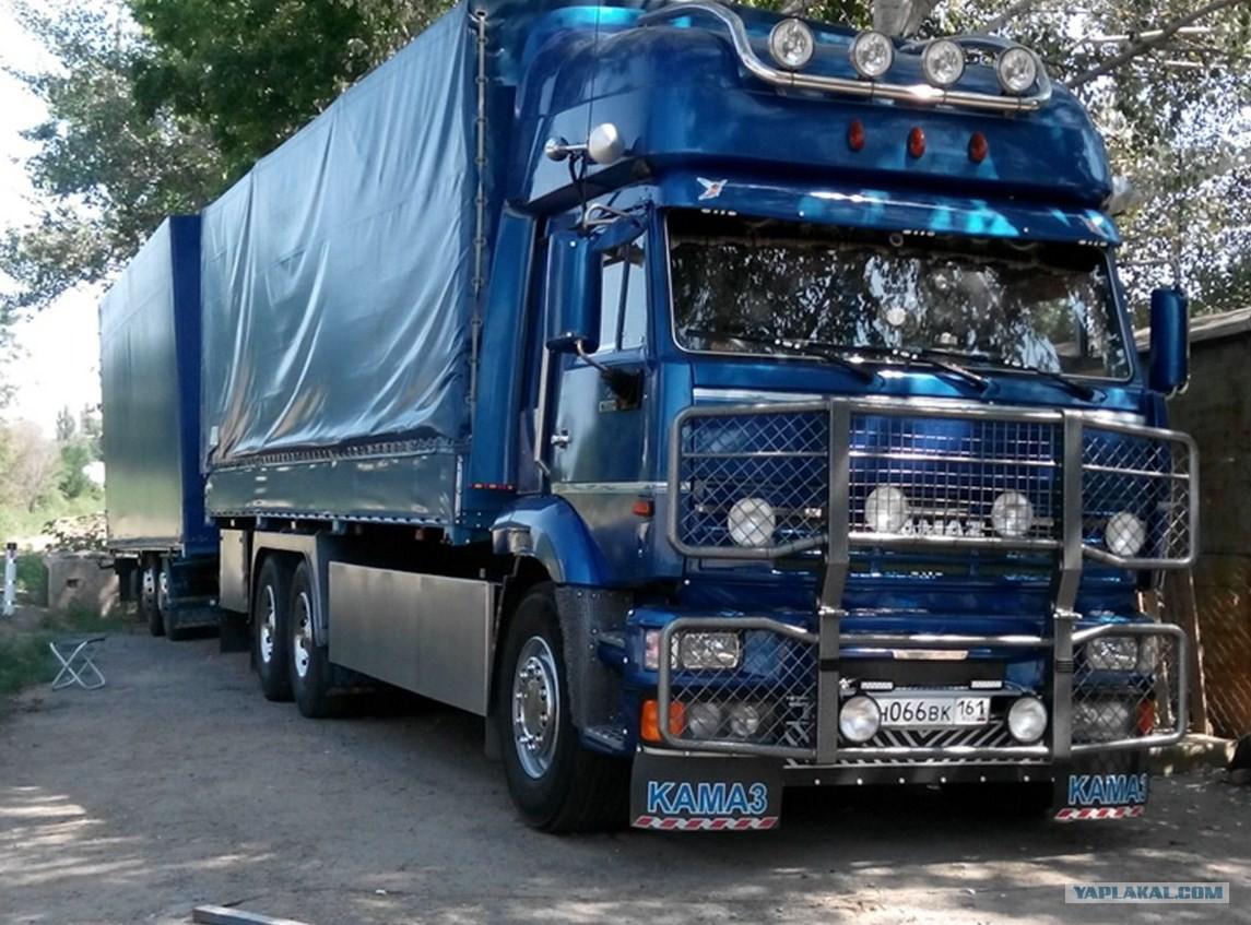 нужна фото русских машин тюнинг камаз сопровождении