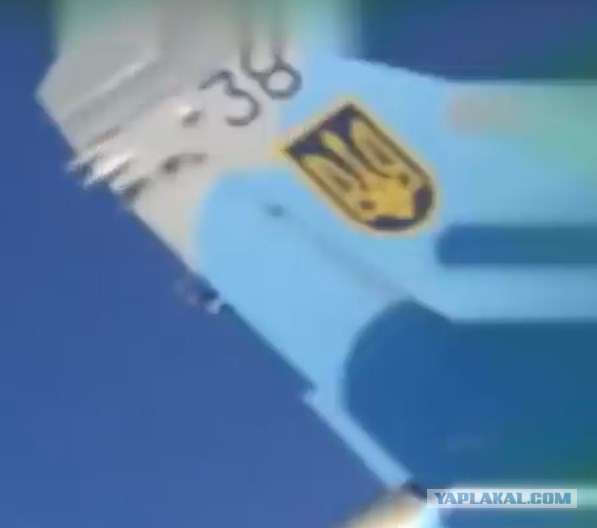 Видео опасного маневра Су-27 над головами людей опубликовано в Сети