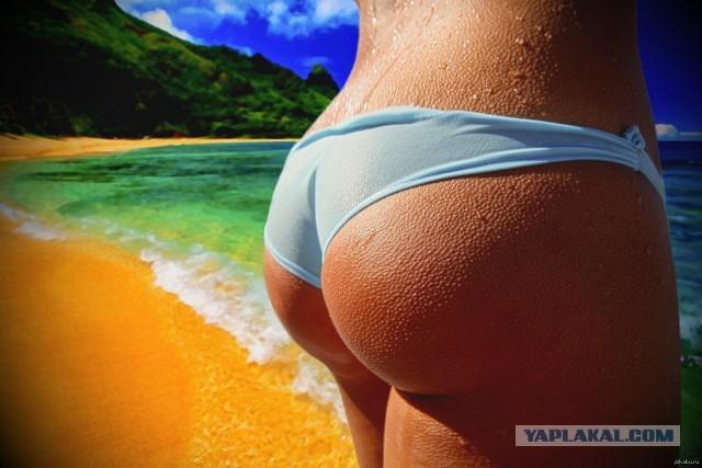 Пляжные попки