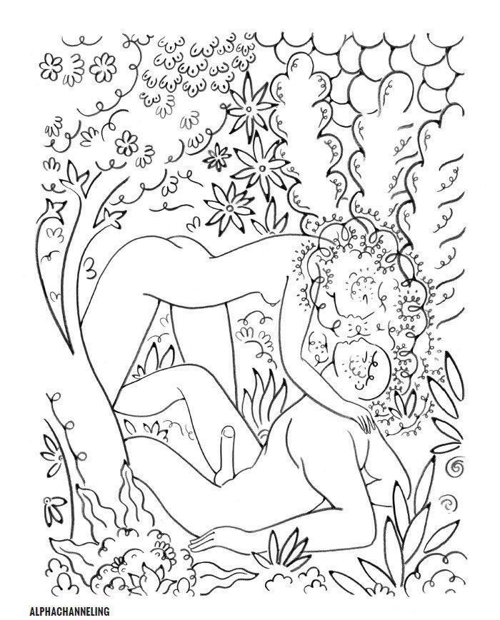 Онлайн раскраски сексуальные девушки