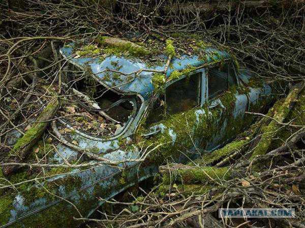 Старые автомобили на улицах Нью-Йорка - 27