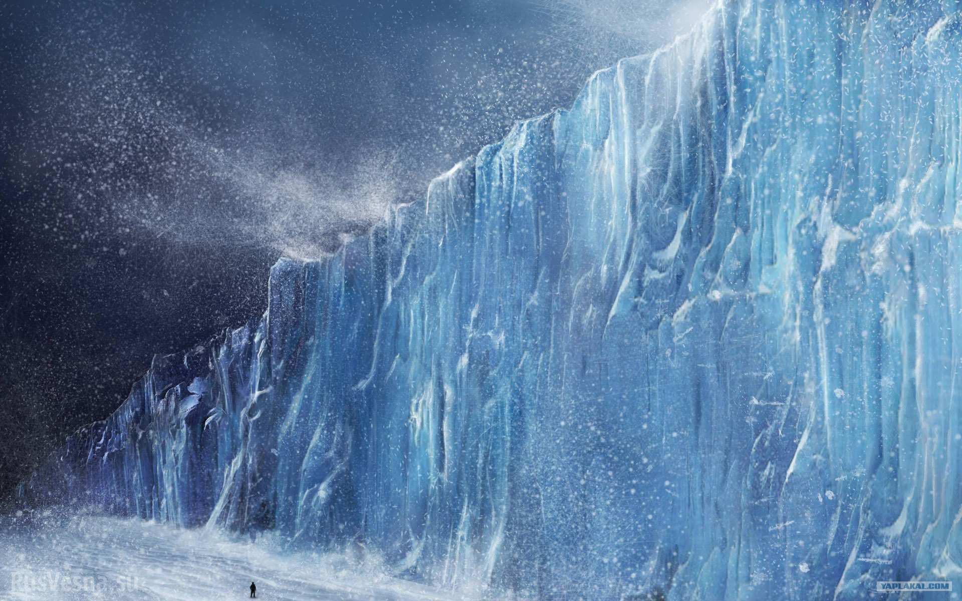 стена снега картинки