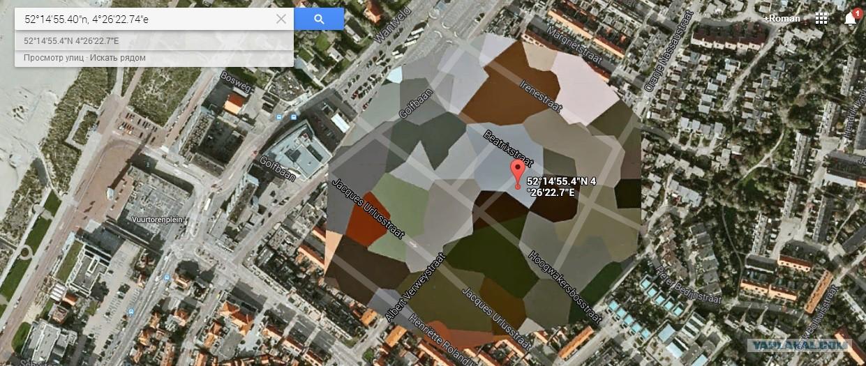 Google earth свастика и член