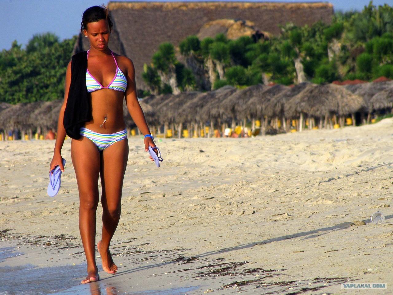 Девушки с пляжей кубы фото