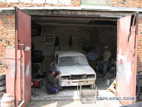 Пристал в гаражах, фото зрелые бабы секс