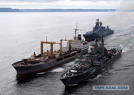 Видео буксировки Адмирала Кузнецова. Разоблачение мифа