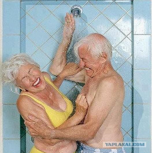 Старик с молодой в порно