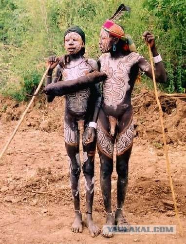 фото мужчин и девушек с необычными половыми органами