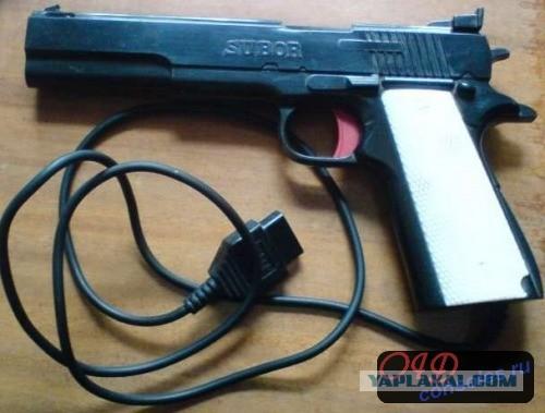 Как работает пистолет Денди