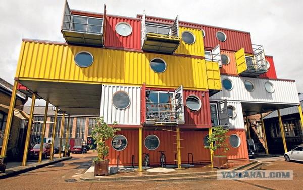 Великолепный особняк, построенный из 7 морских контейнеров