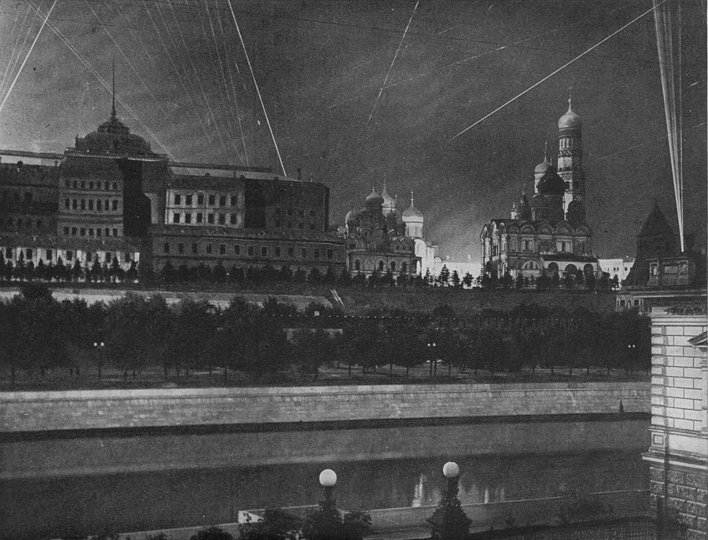 кремль во время войны