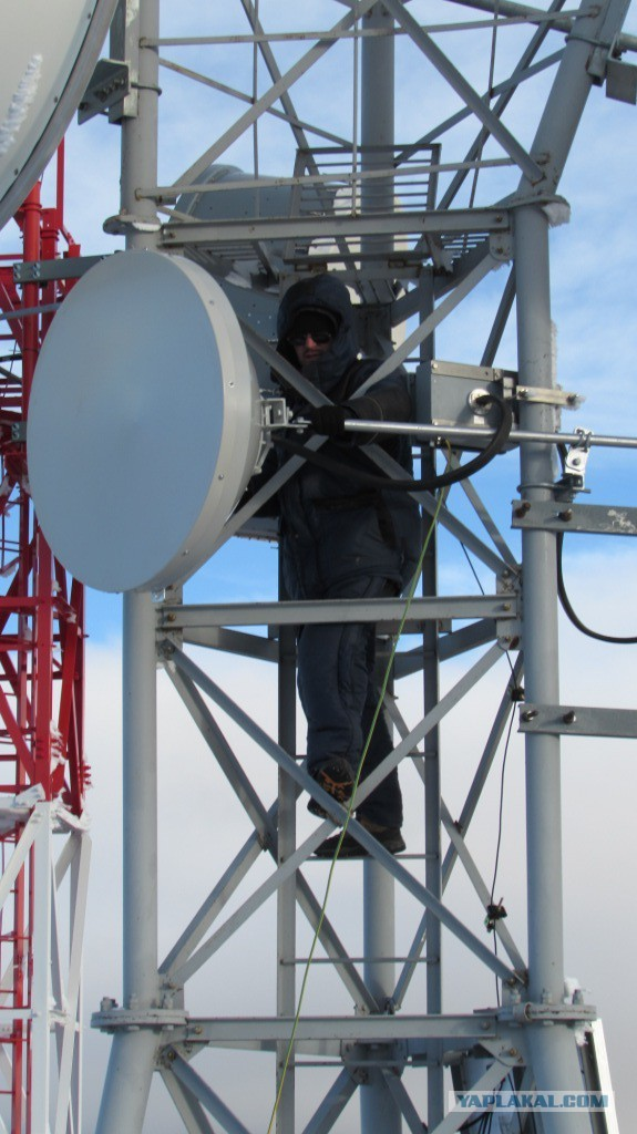 Модернизация ретранслятора в горах