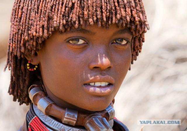 Красивые негритянки из племен