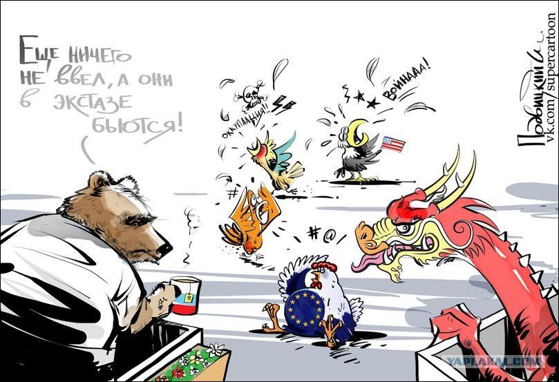 Картинки по запросу карикатуры на западные сми