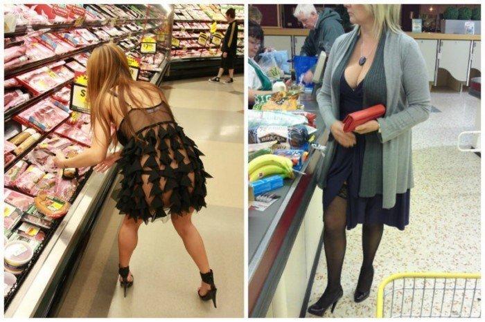 Зашел в первый раз в супермаркет в Америке. Понял, почему много толстых американцев