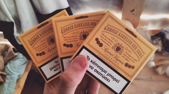 Купить сигареты джордж карелиас одноразовые электронные сигареты puff состав
