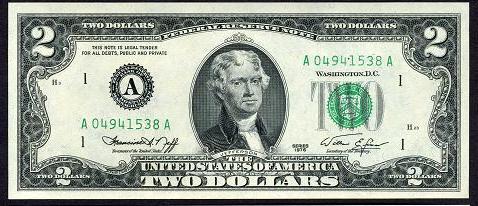 Где купить 2 доллара одной купюрой стоимость железной гривны 2001года