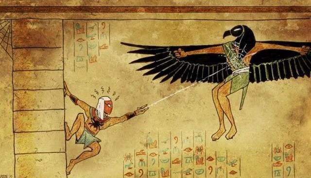 людей, время прикольные египетские картинки произнес несколько слов