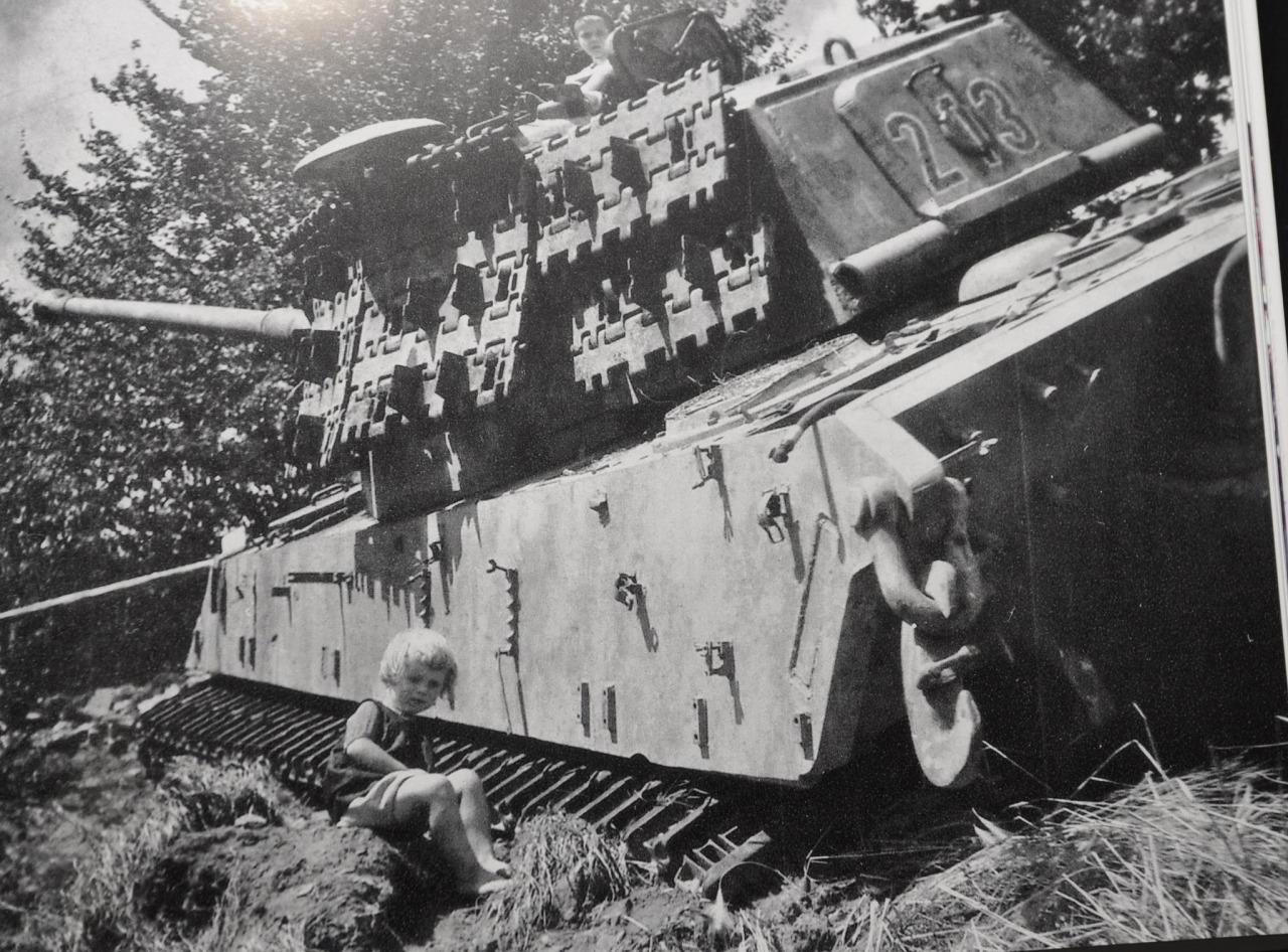 Танк королевский тигр фото вторая мировая