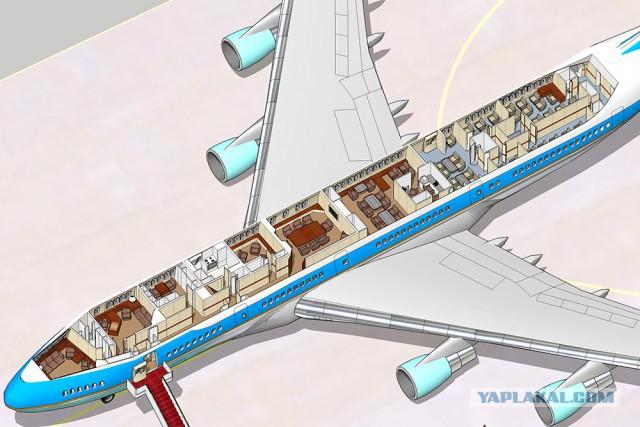 5 самолетов глав государств