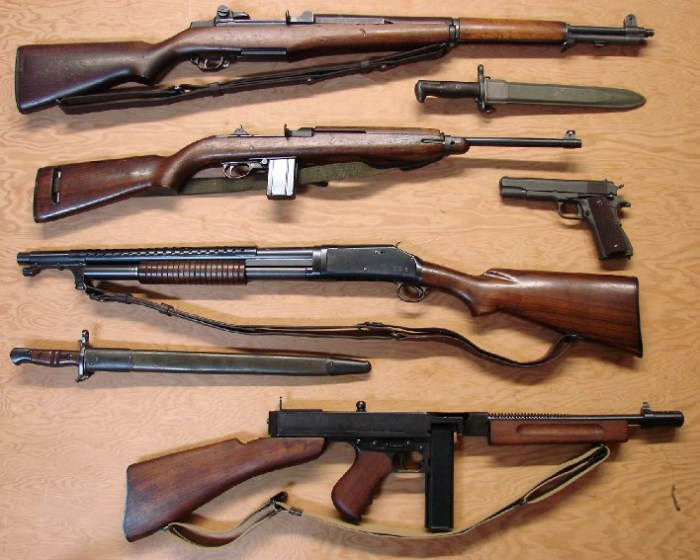 лучшее стрелковое оружие второй мировой войны молодка
