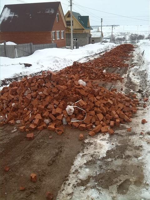 Как мы с соседями строили дорогу